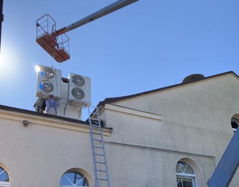 30kW oro kondicionavimo sistemos išoriniai blokai