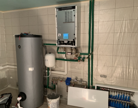 Panasonic Aquarea 9kW T-CAP su 300l vandens talpa