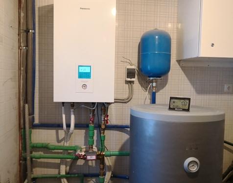 Panasonic Aquarea 9kW T-CAP vidinis blokas su 300l vandens talpa
