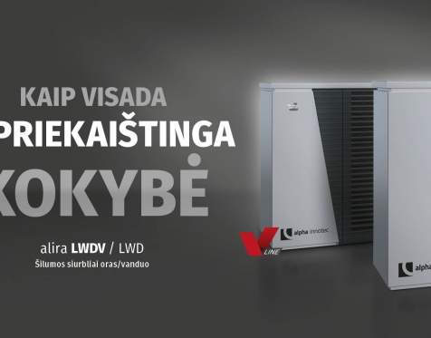 Šilumos siurbliai ALIRA LWD / LWDV_11